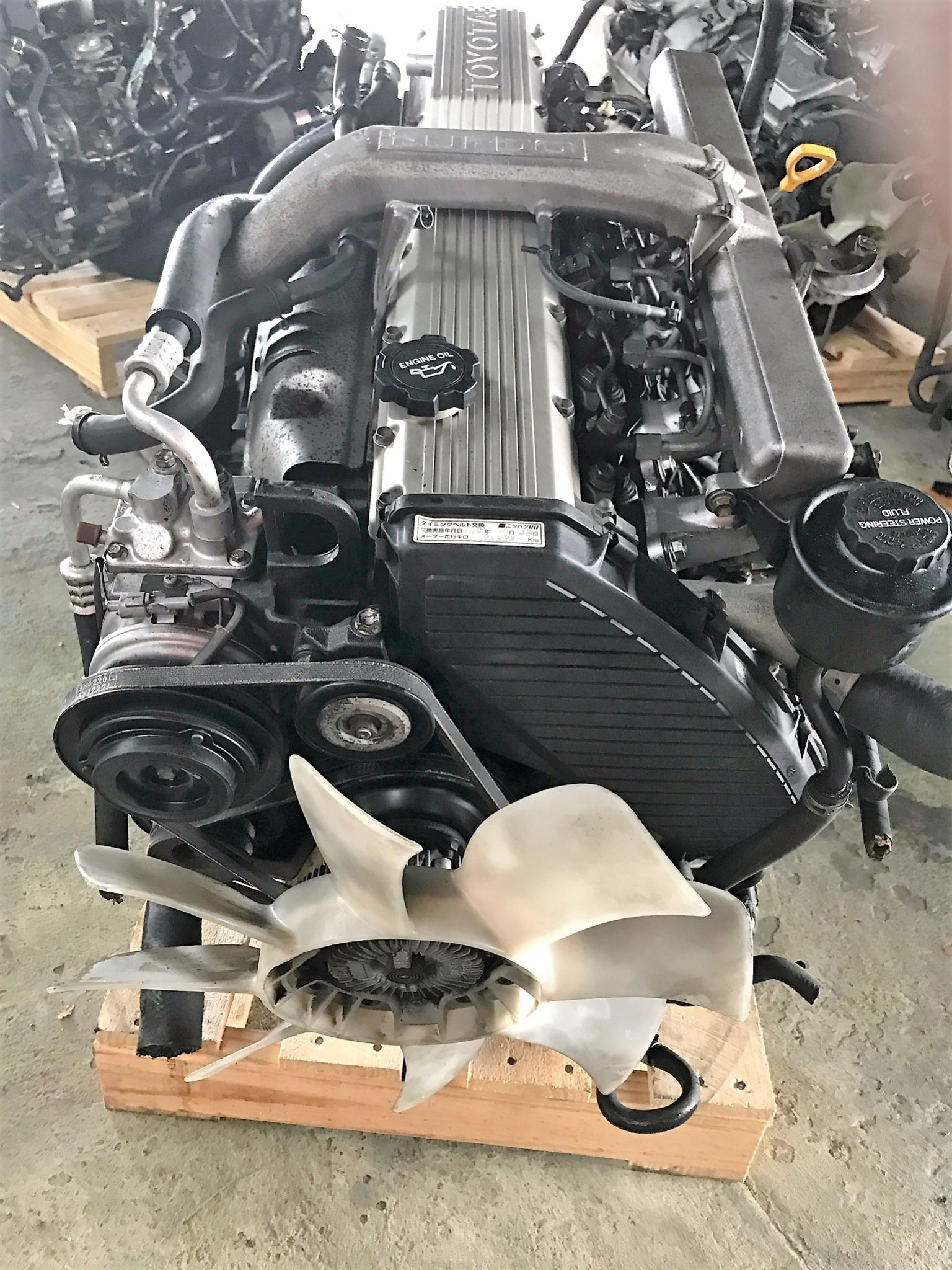 1hd t toyota landcruiser engine japanese engine imports for Engine motors for sale